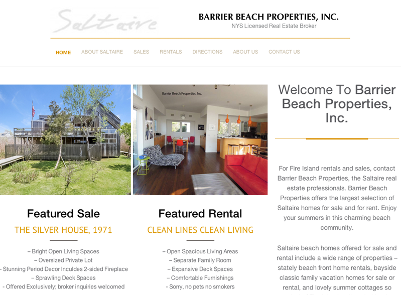Barrier Beach Properties