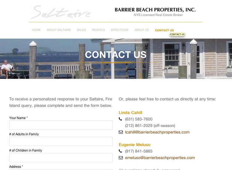 Barrier Beach Properties
