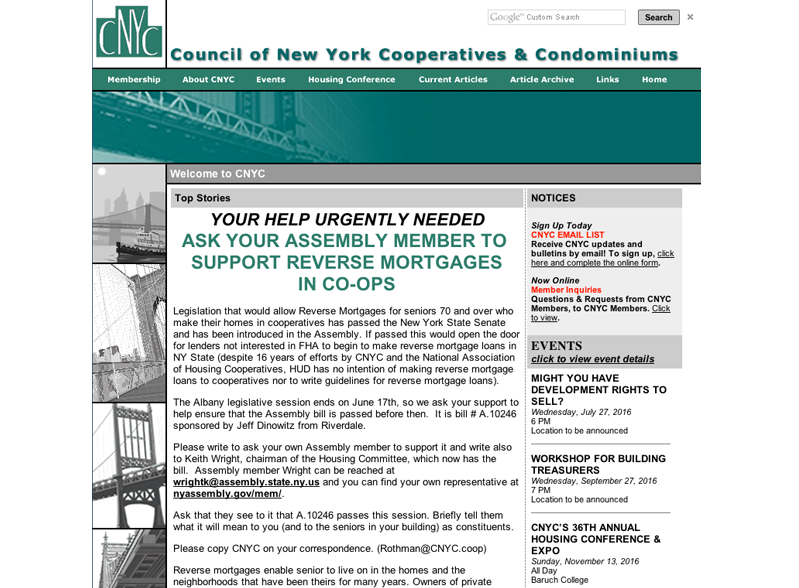 Council of New York Cooperatives
