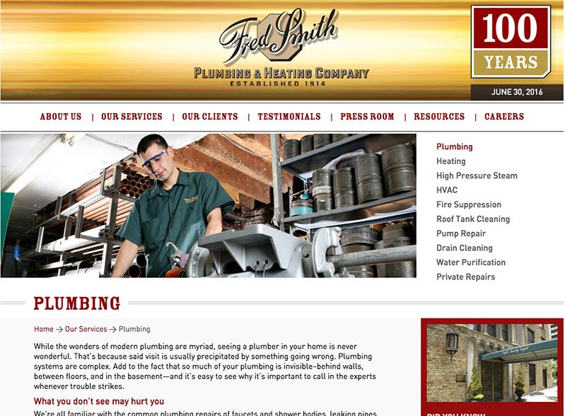 Fred Smith Plumbing & Heating