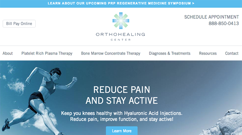 orthohealing center