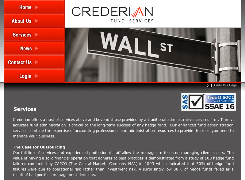 Crederian Fund Services