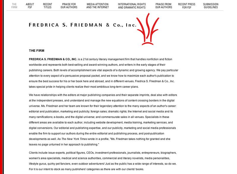 Fredrica S. Friedman & Co., Inc.