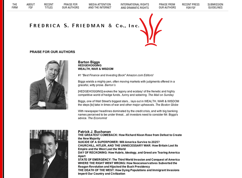 Fredrica S. Friedman & Co., Inc.
