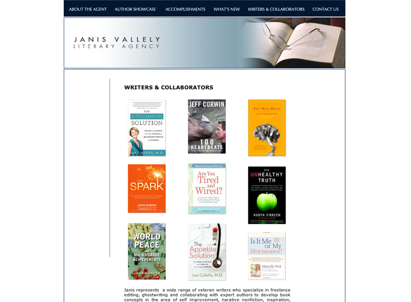 Janis Vallely Authors Group