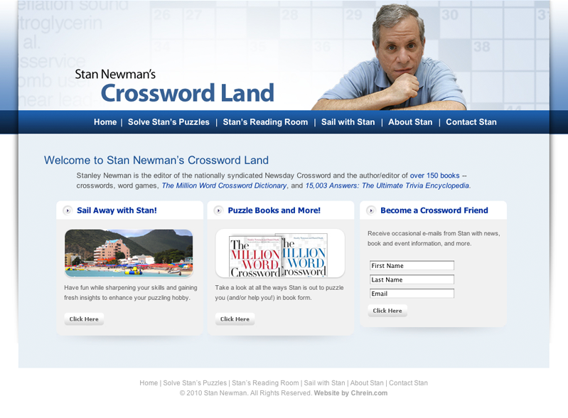 Stan Newman's Crossword Land