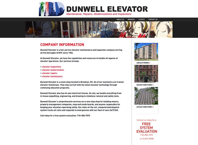 Dunwell Elevator