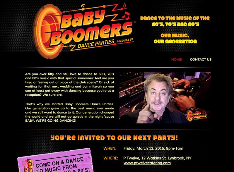 Baby Boomers Dance Parties