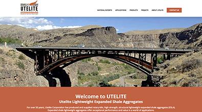 Utelite expanded shale (ES) lightweight aggregates