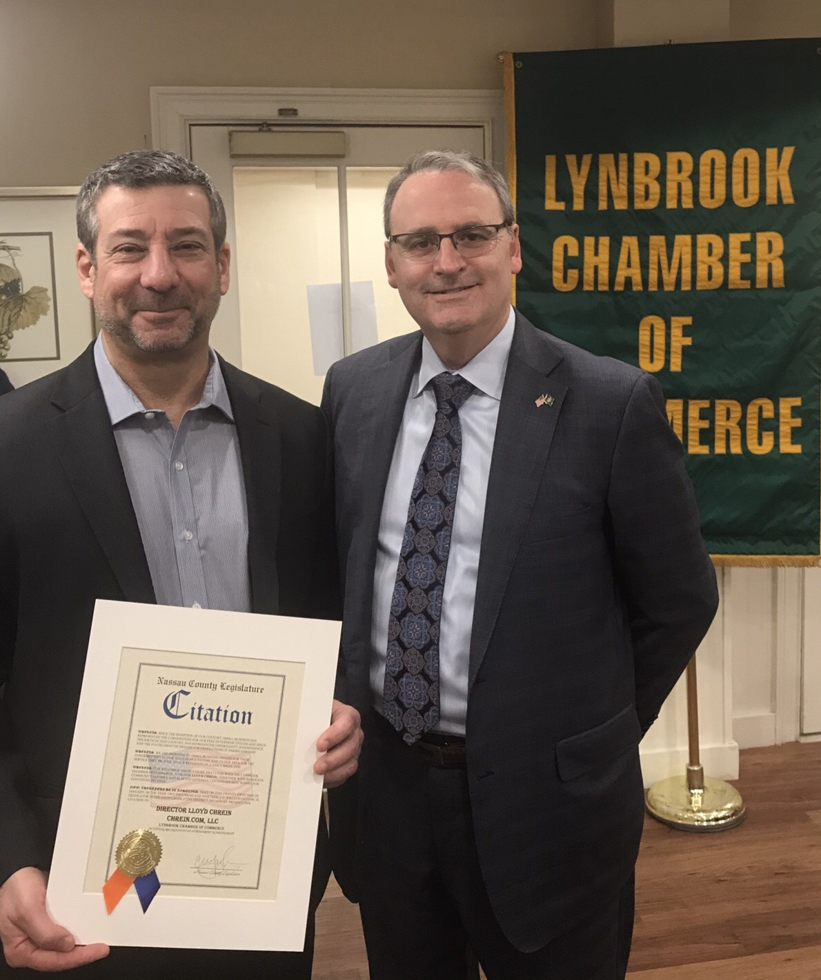 Lloyd Chrein Joins Local Chamber of Commerce Board