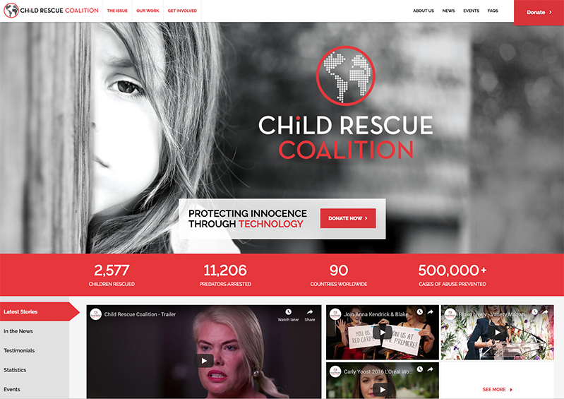 Latest to Launch: Child Rescue Coalition