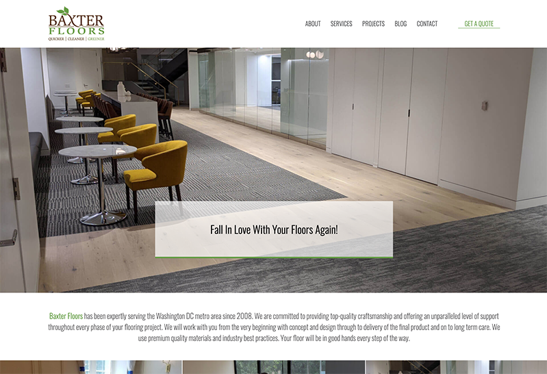 Latest to Launch: Baxter Floors